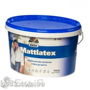 Краска Дюфа MATLATEX Д100 (14кг/9л)