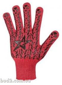 Перчатки Doloni ЗВЕЗДА красная (5640)