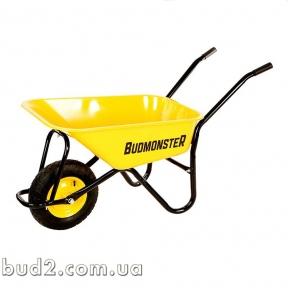 Тачка Будмонстр садовая 1-колесн 70л.130 кг 01-009