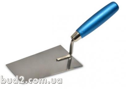 Мастерок-кельма шпаклевочная (нерж) 160х80мм (06-126)