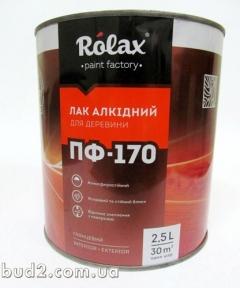 Лак ПФ-170 Ролакс  2,5л