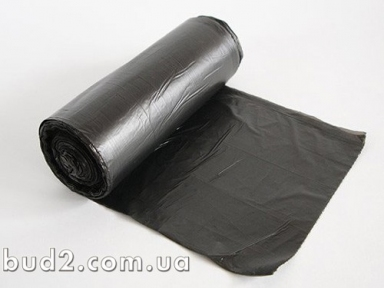 Пакеты для  мусора 160л. 87смх20см 10 шт,черн.