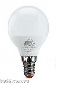 Лед.лампа RH Стандарт ШАР 7Вт Е14 4000К, G45 HN-155030