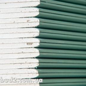 Гипсокартон KNAUF потолочный влагостойкий 2500х1200х9,5