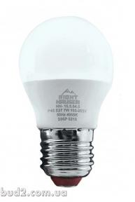 Лед.лампа RH Стандарт ШАР 7Вт Е27 4000К, G45 HN-155040