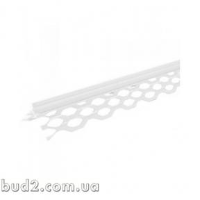 Уголок для мокрой штукатурки пластиковый (3м)