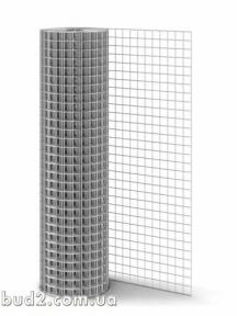 Сетка сварная 12х25х0,7/h1.0 оц.  (30м.кв)