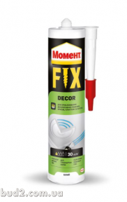 Жидкие гвозди Момент Decor Fix 400г