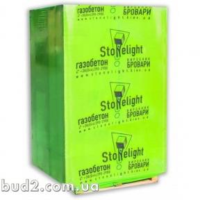Газобетон Стоунлайт 250x200x600 (паллета 2,1м3-70шт)
