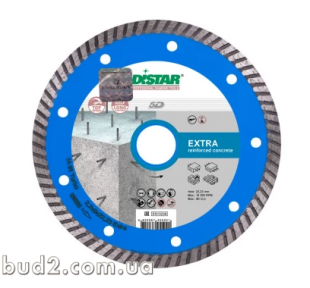 Алмазный диск DISTAR 125х2,2х10х22,23 TURBO EXTRA