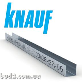 Профиль KNAUF UD 27x28, 3 м (0,60 мм)