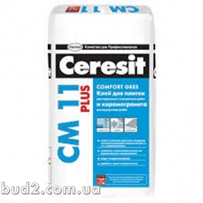 Клей для плитки Ceresit (Церезит)  СМ 11 PLUS  (25кг)