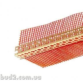 Контрашульц (уголок пластиковый с сеткой) 3м