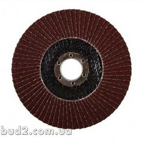 Круг лепестковый торцевой 125мм Р150