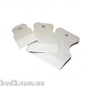 Набор шпателей резиновых белых 3 шт 40-60-80мм (8581300)