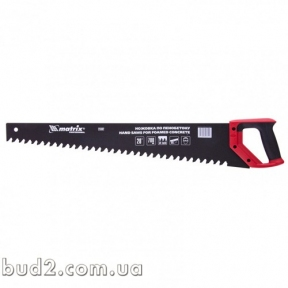 Ножовка по пенобетону 700 мм твердосплавные напайки на зубцах, защит. покрытие(233829)