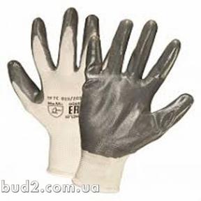 Перчатки нитрил оранж-серые Сигма (9446461)