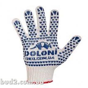 Перчатки Doloni ПВХ БЕЛЫЕ (547)