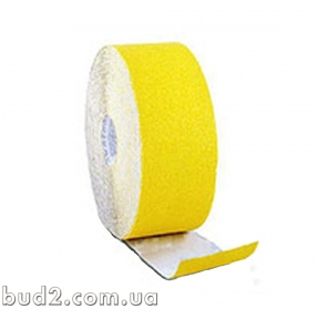 Шлиф.шкурка на бумаге 115ммх50м Р120 жел