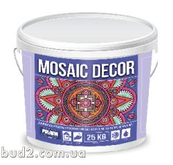 Штукатурка декоративная мозайка MOSAIC DECOR Полимин 25кг