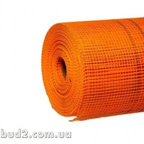 Сетка фасадная 5х5мм (160г/м2) оранж.(45м)