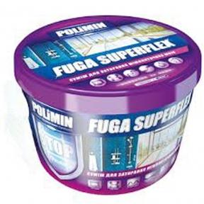 Наполнитель швов (затирка) POLOMIN FUGA Superflex серая (2 кг)