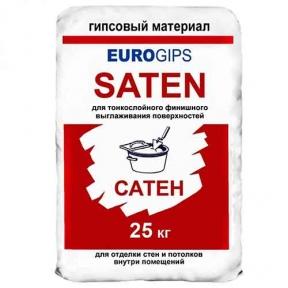 Шпаклевка EUROGIPS Saten финиш (25 кг)