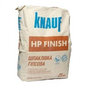 Шпаклевка KNAUF (КНАУФ) НР-финиш гипсовая (25кг)