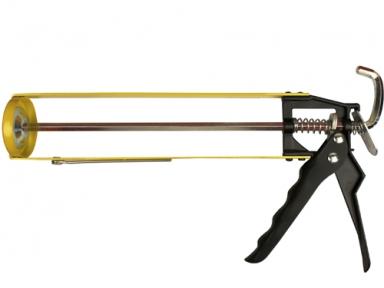 Пистолет для силикона скелетный VOREL 230 мм (09150)