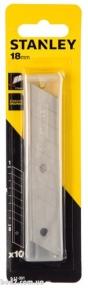 Лезвия сменные с отламыв.сегменатми. 18мм 10 шт  Стэнли(0-11-301)