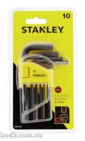 НАбор ключей 6 гран, L подобных 1,5-10мм , 10 шт.  Стэнли (0-69-253)