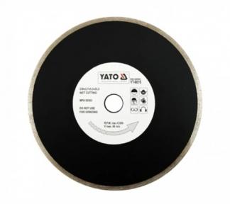 Диск отрезной алмазный для мокрой резки 230х5,3х22,2мм, 2,7 мм  YATO (YT-6015)