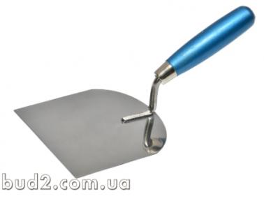 Мастерок-кельма штукатура(нерж) 120х100мм (06-103)