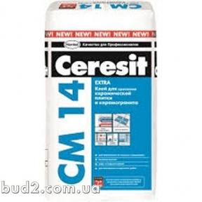 Клей для плитки Ceresit (Церезит) СМ 14 (25 кг)