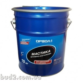 Мастика Ореол-1 битумно-каучуковая Универсальная 25  кг
