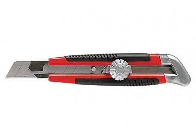 Нож с мет,направ. с винт.фиксатором 18мм MTX 789149 (18-003)