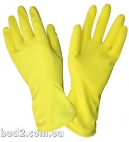 Перчатки резиновые хозяйственные (4546)