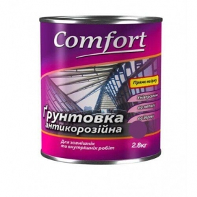 Грунт Комфорт ГФ-021 серый 2,8 кг