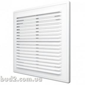 Решетка вентиляционная пласт. с москит. сеткой ABS 234х234 мм (60-003)