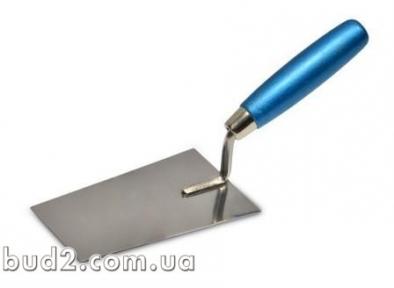 Мастерок-кельма шпаклевочная (нерж) 160х80мм (06-126) 863209