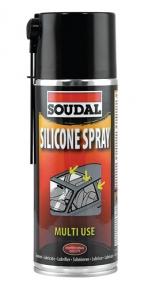 Силиконовое масло SOUDAL, Silicone Spray, универс., 400 мл