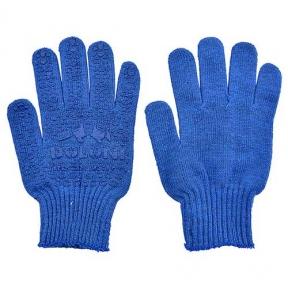 Перчатки Doloni ПВХ СИНИЕ (646)