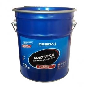 Мастика Ореол-1 битумно-каучуковая Универсальная 10  кг