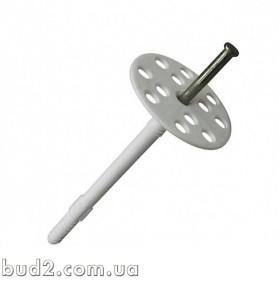 Дюбель для теплоизоляции с металлическим гвоздем 10х200 (уп.50шт)