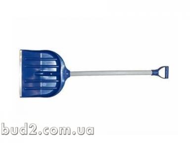 Лопата для снега 450*470  с пласт. держаком