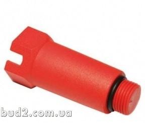 Заглушка резьб ASG 20*1/2 (красная, длинная) (1415276180)
