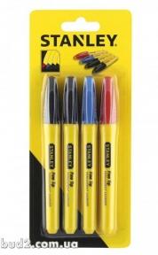 Маркер цветной (в упаковке 4 шт) ЦЕНА ЗА ШТ. Стэнли (STHT81391-0)