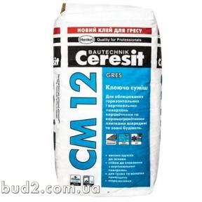 Клей для плитки Ceresit (Церезит)  СМ 12 (25 кг)