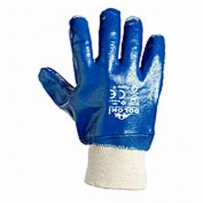 Перчатки щелочные с мягким манжетом