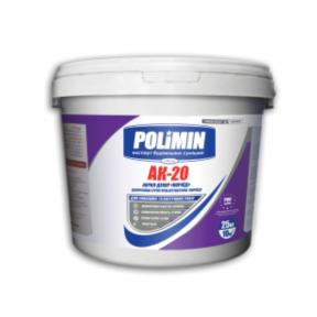 Штукатурка короед акрил. Polimin (Полимин)  АК-20 База C (25кг)